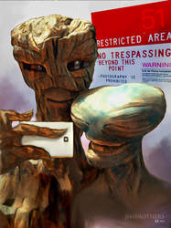 Aliens on Holiday in the states. by JamesBrothers