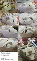 Amon mask progress by thegadgetfish
