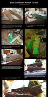 Basic Cardboard Armor Tutorial by thegadgetfish