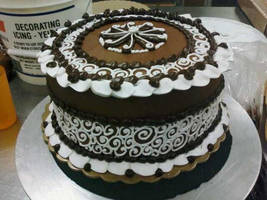 Chocolate swirls by TheForest