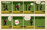 The Pitfalls of being Nightcrawler by strawmancomics