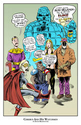 Cerebus and His Watchmen by strawmancomics