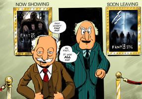 Muppet Film Critics by strawmancomics