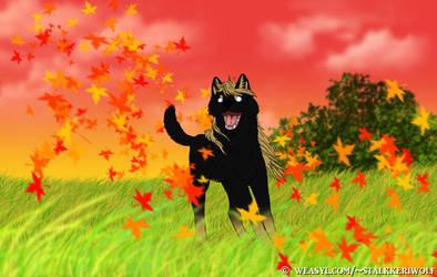 Autumn by Stalkkeri-wolf