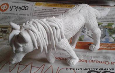 Fursona wip by Stalkkeri-wolf