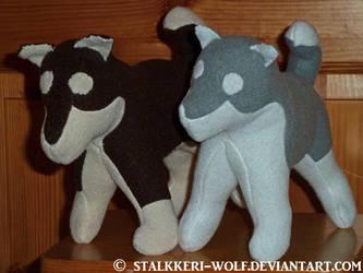 Husky puppies WIP by Stalkkeri-wolf