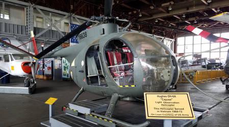 OH 6 CayuseI Helicopter by SamTheThomasFan3