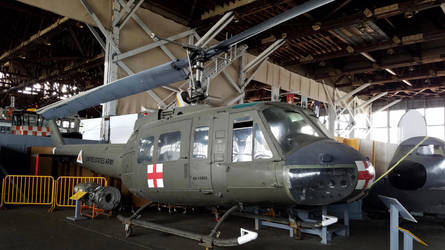 UH-1 Huey Helicopter by SamTheThomasFan3