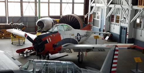 T-28C Trojan Airplane by SamTheThomasFan3