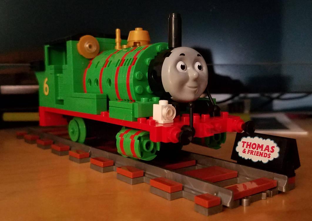 Loz Blocks Thomas Collection - Percy by SamTheThomasFan3
