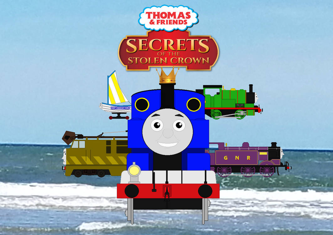 Secrets of the Stolen Crown Fanmade Poster by SamTheThomasFan3