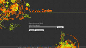 Upload Center by bitstarr