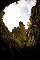 Berry Pomeroy Castle by bitstarr