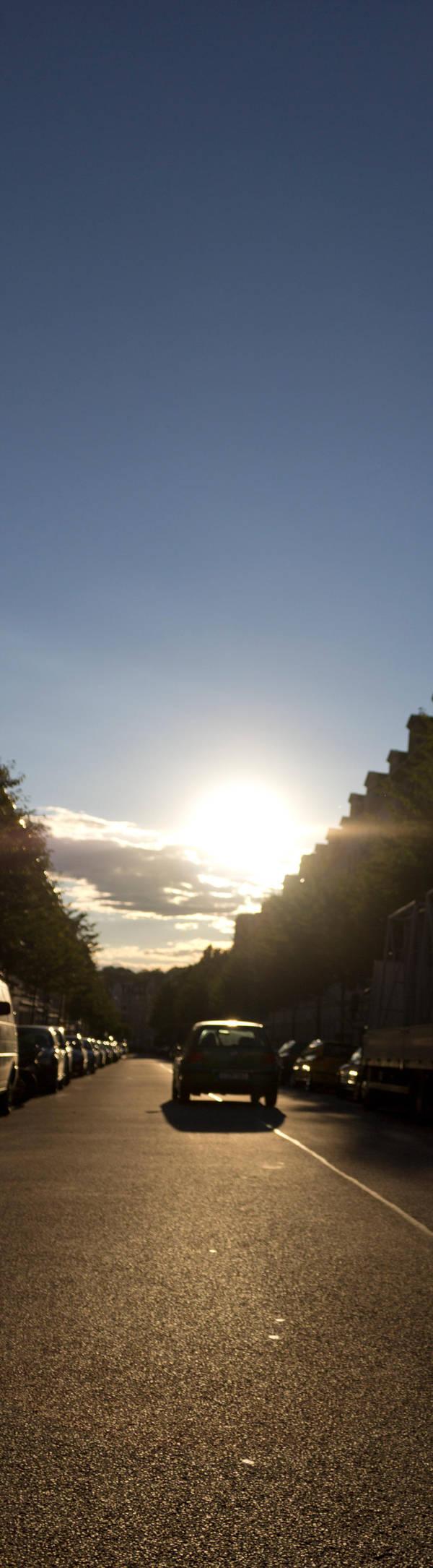 Hello Sunset by bitstarr