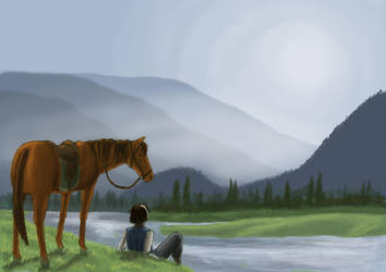 A rest by the river by rufious
