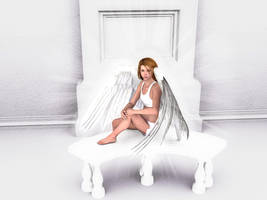 Heavenly Home -An Angel's Home by jamminwolfie