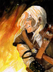 Geralt of Rivia by the-second-blueL