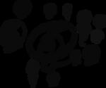 Every word symbols in Dscript 2D writing system by dscript