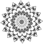 Sunflower Two - Dscript text art relfection filter by dscript