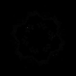 Glyph Disc - Dscript Alphabet Glyphs Reflections by dscript
