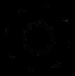 Spikey portal - free vecotr art creative commons by dscript