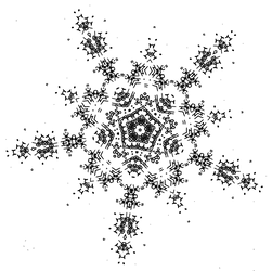 Star Spkie - Spikey five sided design - free art by dscript