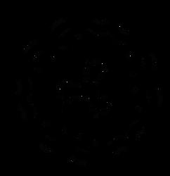 Hollow tri point cell - Dscript free vector art by dscript