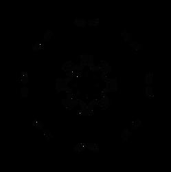 Gear Spokes - Free Dscript vector stock art by dscript