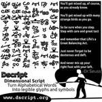 Dr.Seuss Quote in Dscript Non-Linear Script Text by dscript