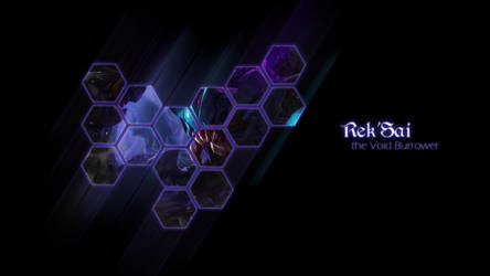 Rek'Sai Wallpaper by muamerART