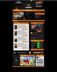 GAMERWORLD Template by muamerART