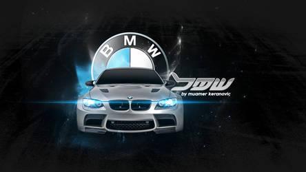 BMW WALLPAPER by muamerART