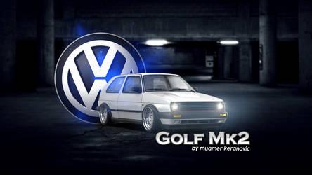 GOLF MK2 WALLPAPER by muamerART