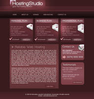 Web Hosting Template by suicidekills