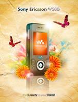 Sony Ericsson W580i by suicidekills