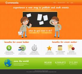 Evenesia Web by suicidekills