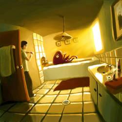 Bathtime's Over by Phasmageist