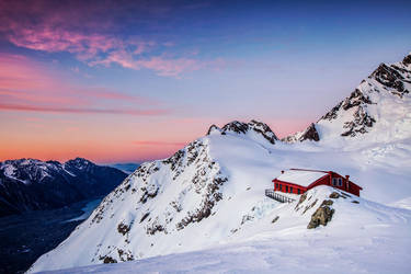 Plateau Hut Delight by timbodon