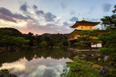 A Temple Sunset by timbodon