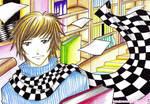 Checkered Flag Guy by narkAlmasy