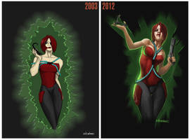 Nod Commando: Now and then by ElCachone