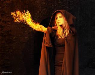 Fire of vengeance by Djsanka