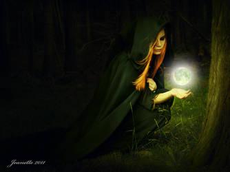 Magical moon by Djsanka