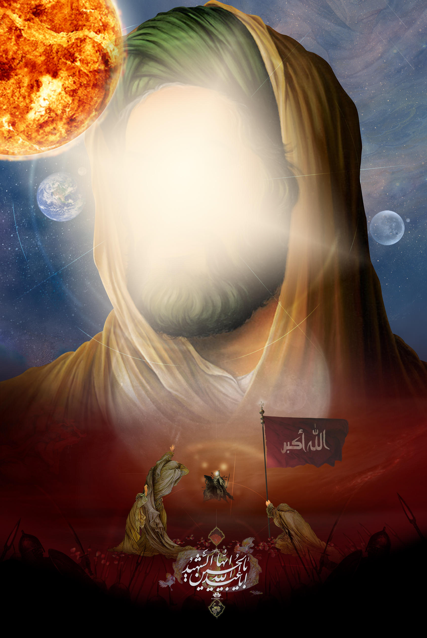 Emam Hussain by alnassre