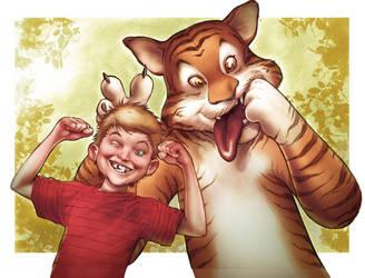 Calvin e Hobbes by Maiolo