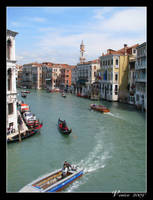 The Grand Canal of Venice by maska13