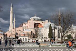 Hagia Sophia by maska13
