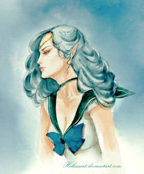 Sailor Neptune by Helesssart