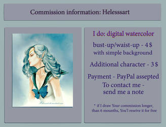 Commission 4 $, temporary CLOSED. by Helesssart