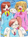 team one of angels by Laurykachan
